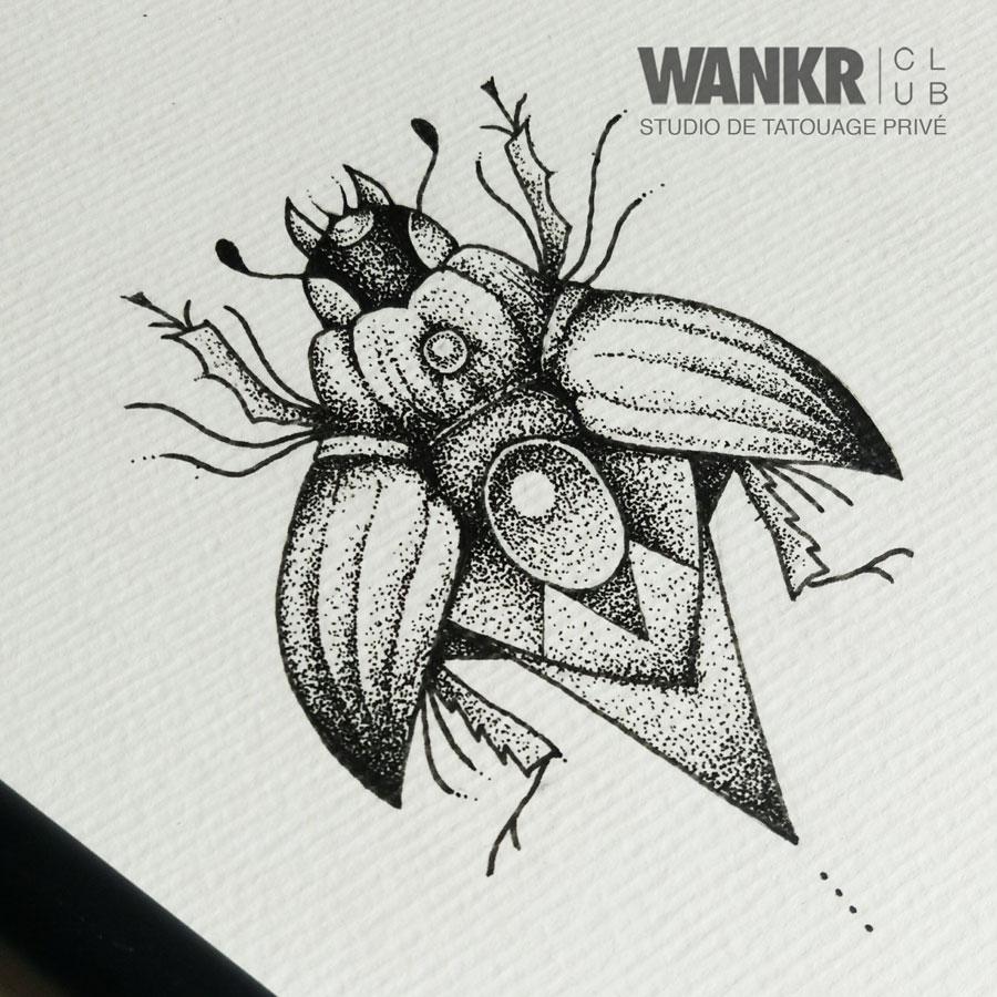 scarabée sacré