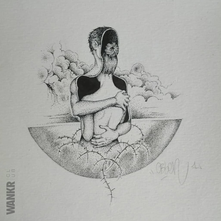 forbidden love. Dotwork tattoo project
