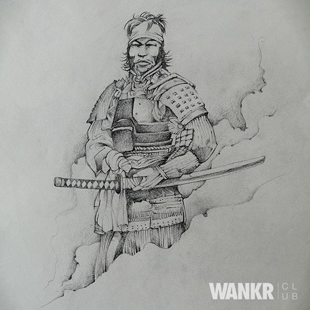 Samourai Wankr Club Tattoo