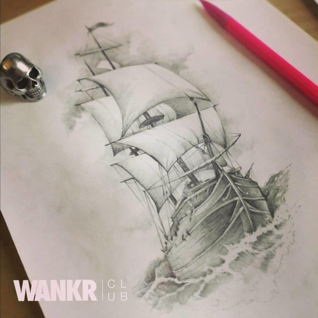 navire tattoo