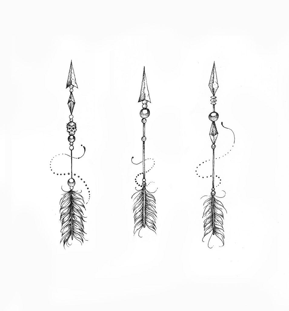 Flèches ornementales